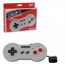Retrobit NES Style Dogbone Wired Controller (New)