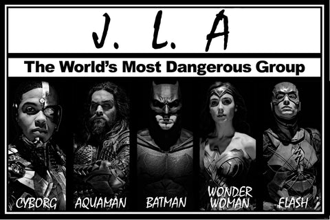 JLA - The Most Dangerous Group In The World
