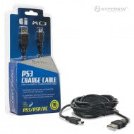 Hyperkin Mini USB Cable for PS3 Controllers (Brand New)