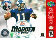 Madden 2002 (Cartridge Only)