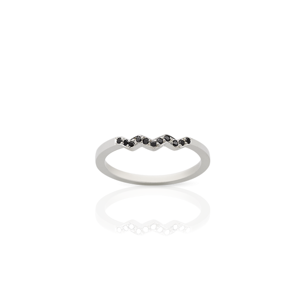 Black Diamond Zig Zag Band