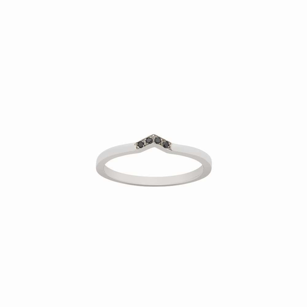 Black Diamond Stacking Ring Meadowlark Line & Label
