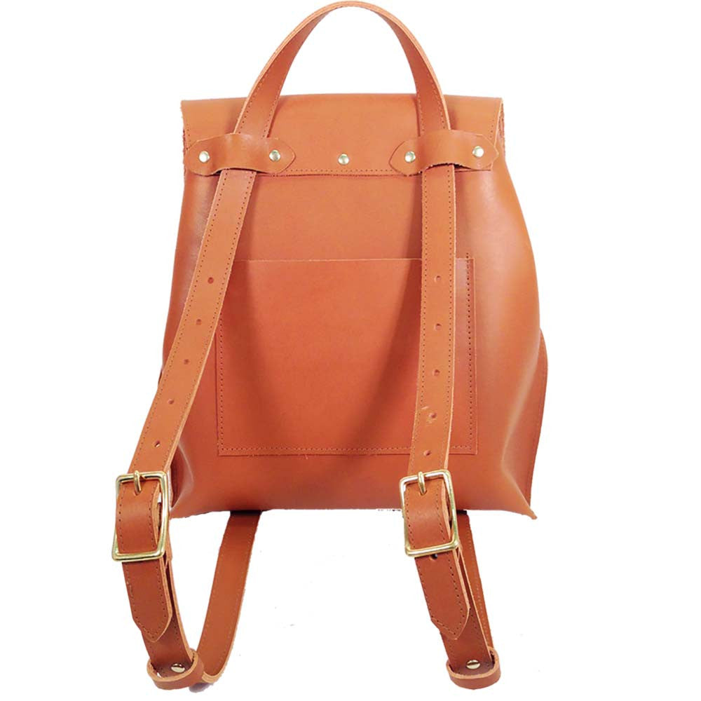 Leather Convertible Backpack made in Brooklyn