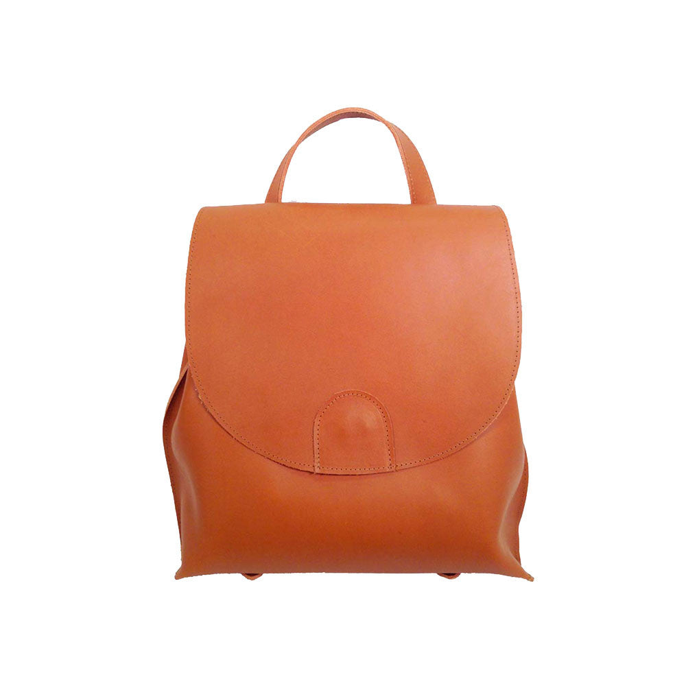 Leather Convertible Backpack made in Brooklyn Line & Label