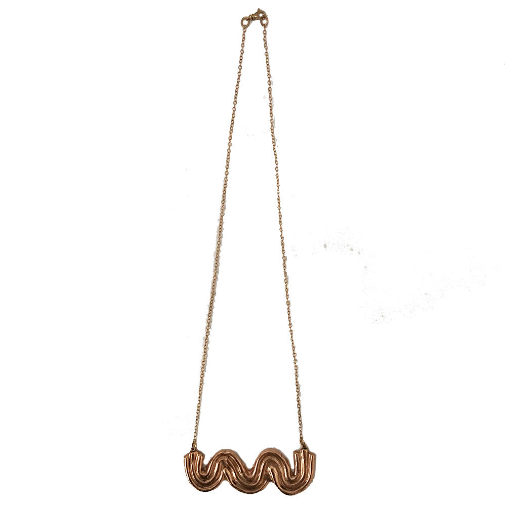 Cosway Bronze Necklace
