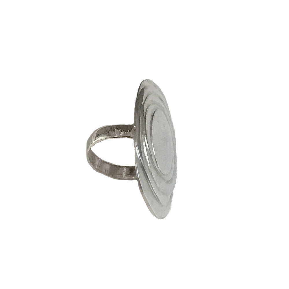 Sterling Silver Organic Statement Ring