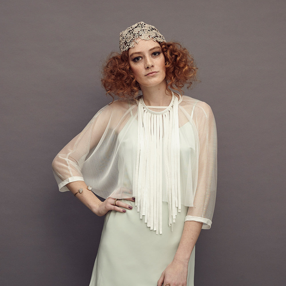 Ghost Silk Tulle Top