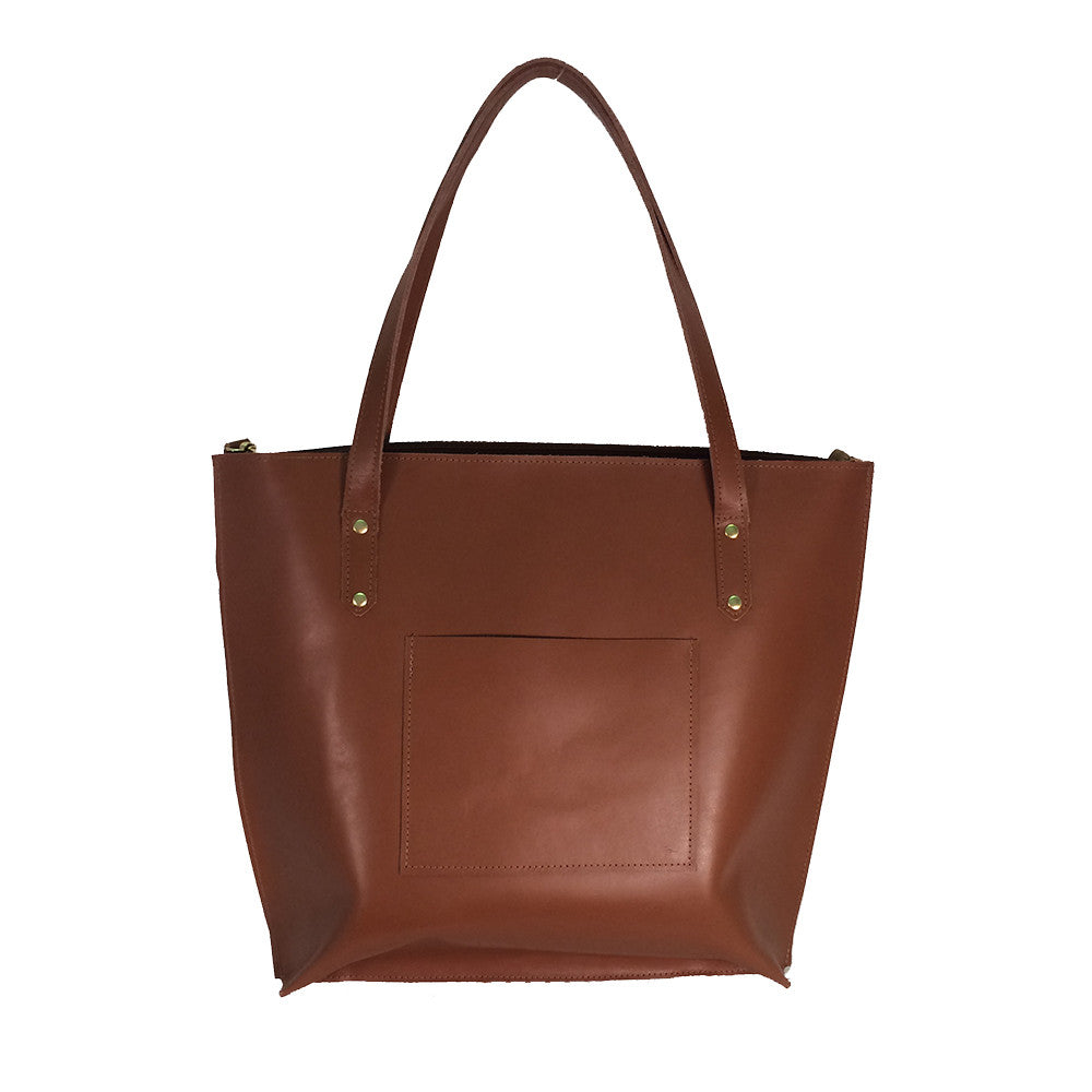 Saddle Leather Tote