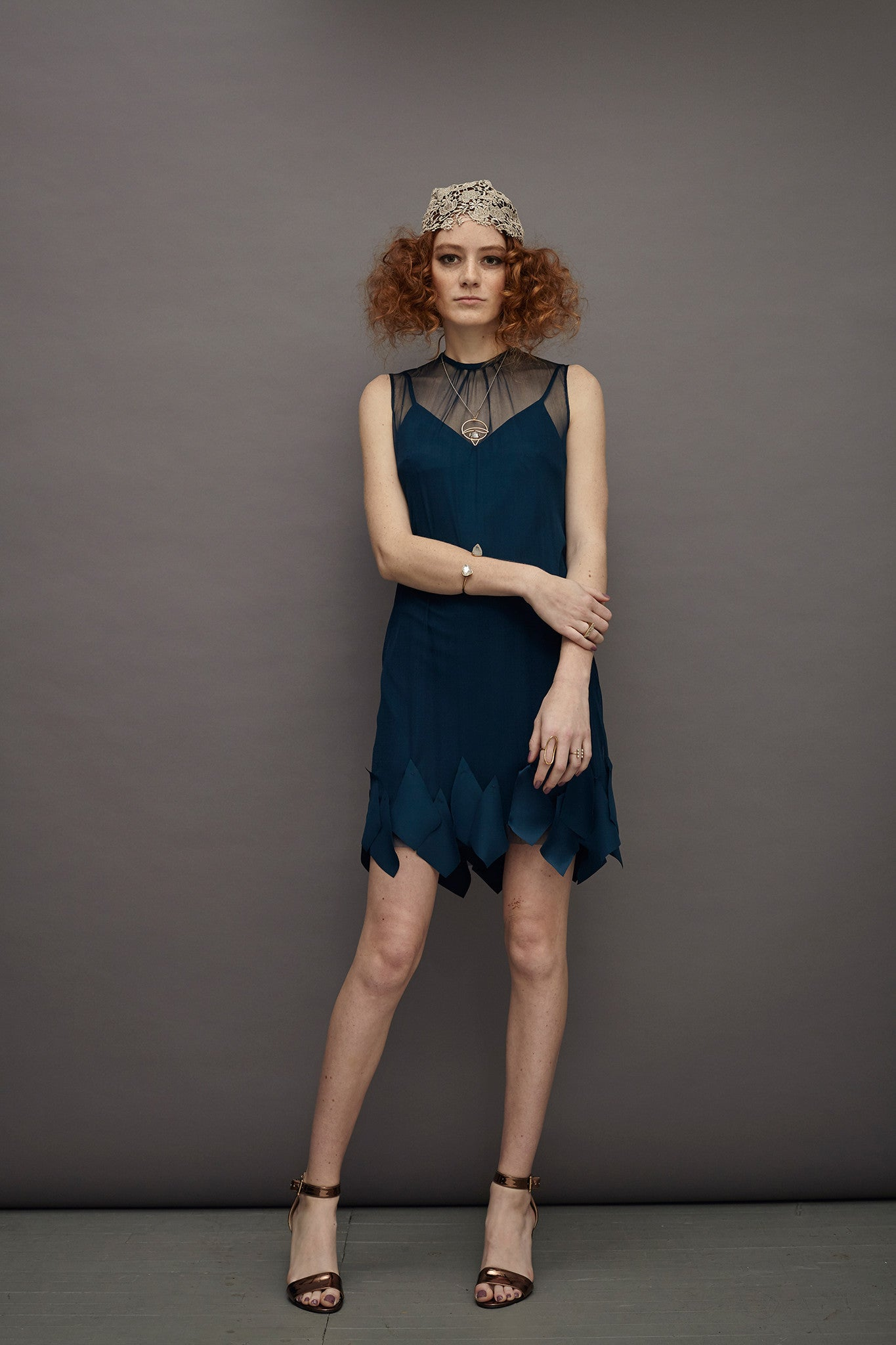 Cadet Silk Tulle Dress