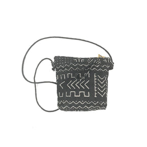 Mudcloth Crossbody Bag Made in Brooklyn