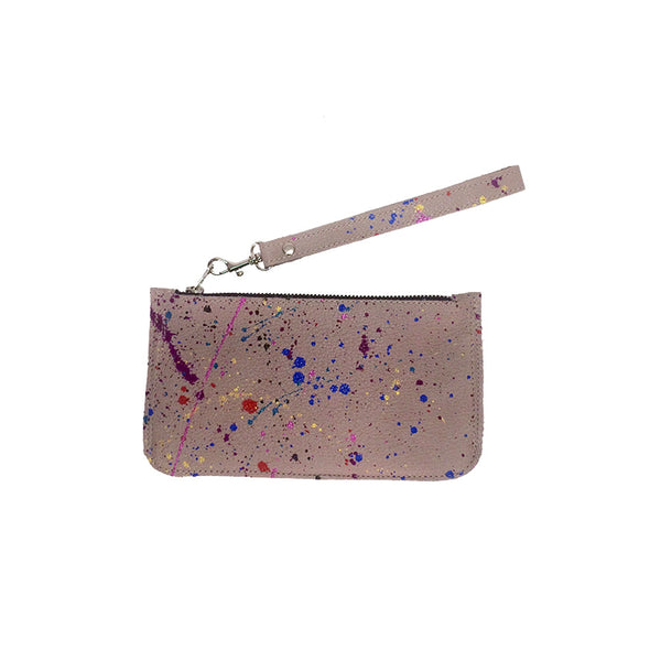 Splatter Wallet / Clutch