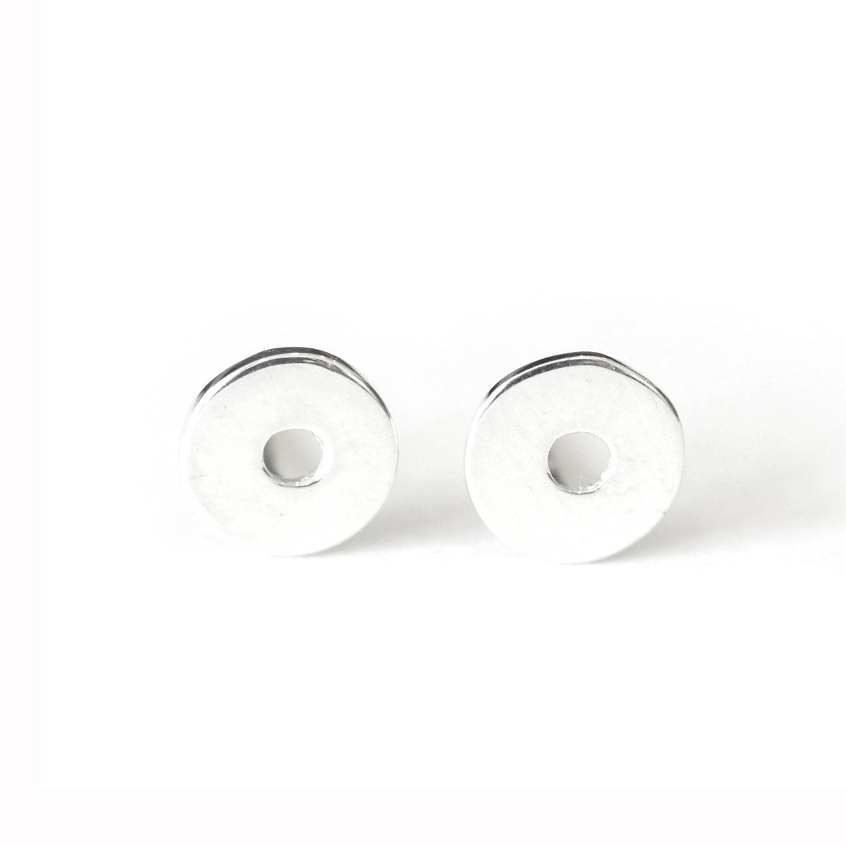 Washer Stud Earrings