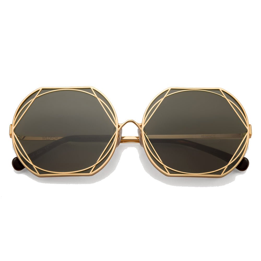 Gold Regency Sunglasses