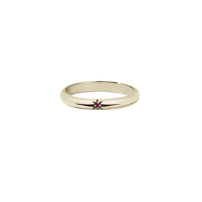 Diamond Star Round Band