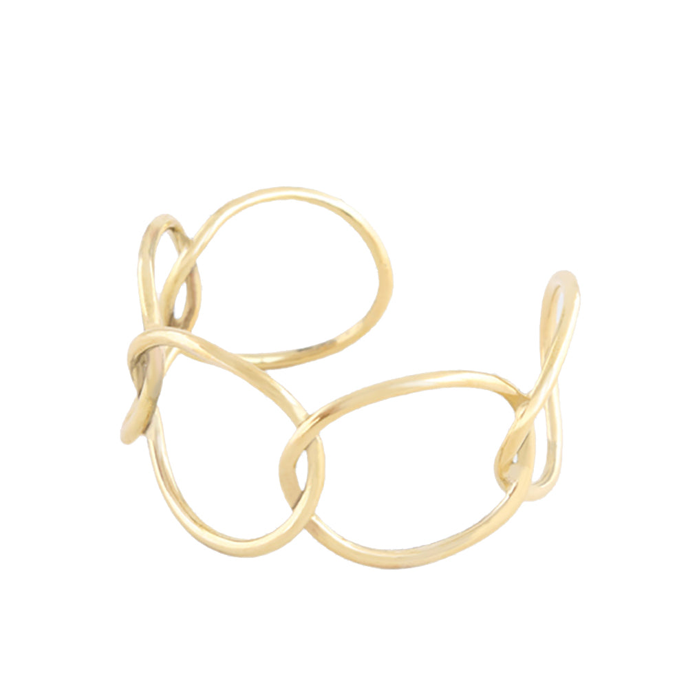 Soko Solid Brass Chain Bracelet made in Kenya