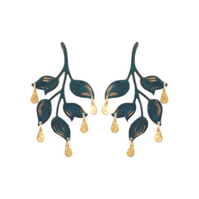 Emerald Ophelia Earrings