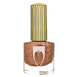 Flossgloss Rose Gold Glitter Nail polish