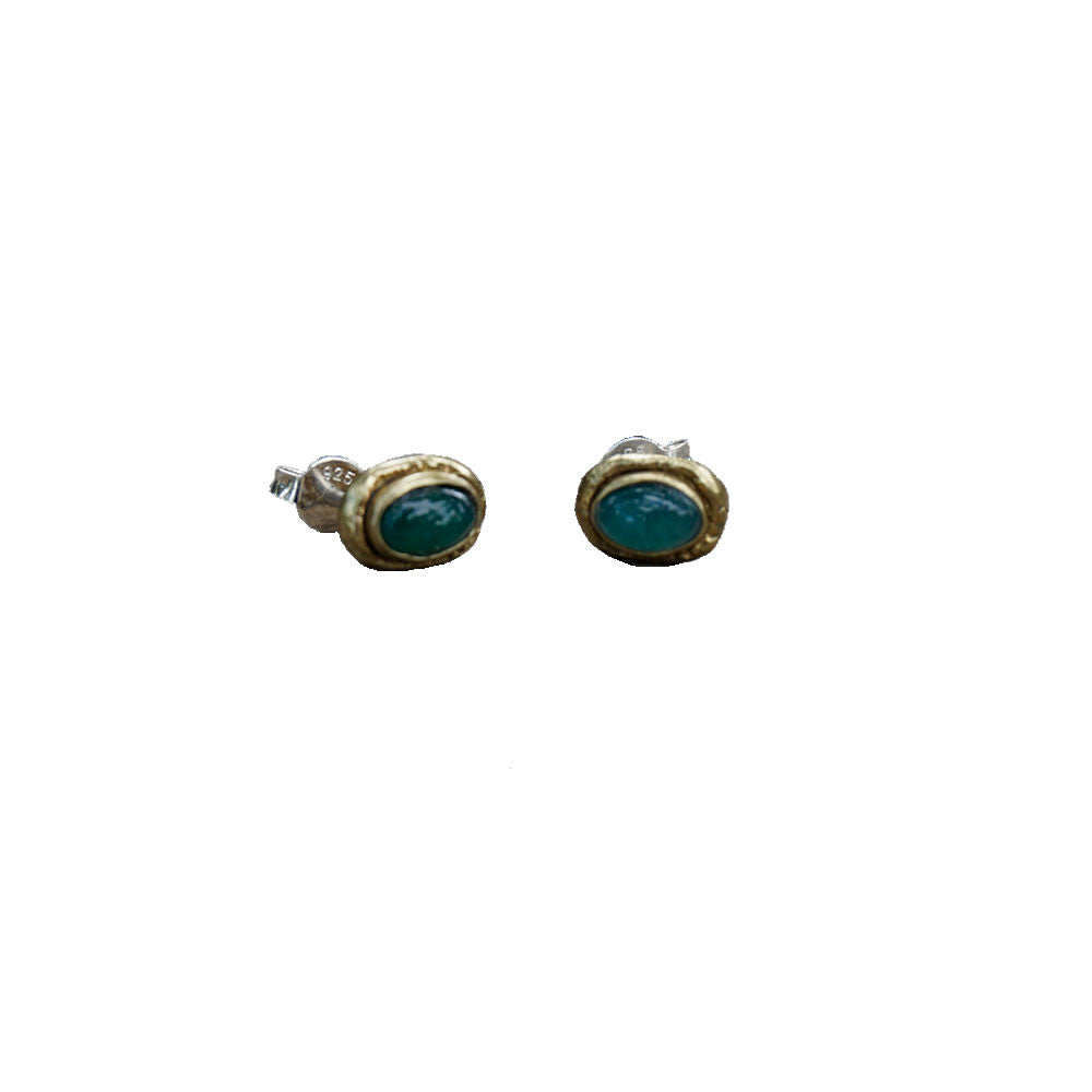 Stacey Green Onyx Earrings
