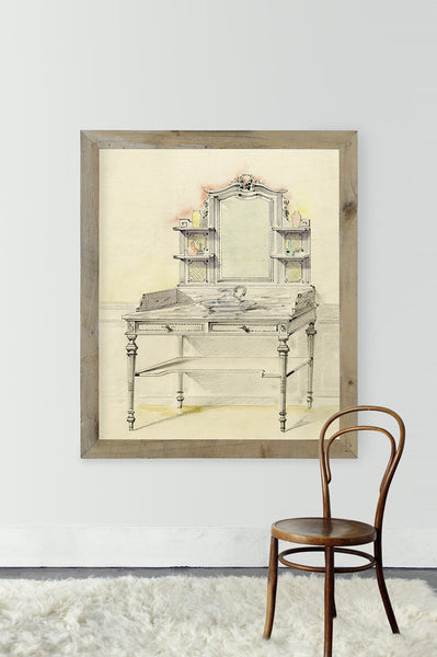 Antique French Vanity