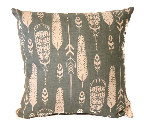 feather 16x16 pillow cover