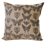 moth 16x16 pillow cover