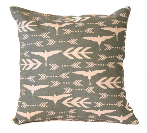 bird16x16 pillow cover