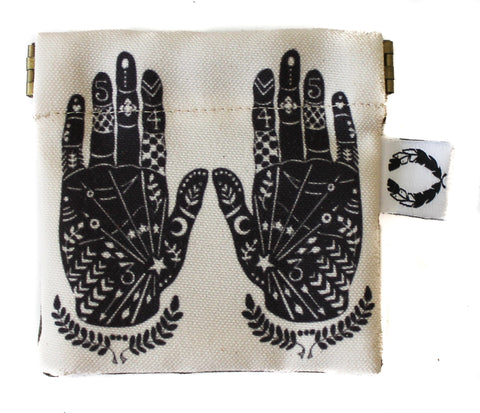 Palm Reading Hand coin purse