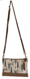 Feathers (navy/brown) West Chop Bag