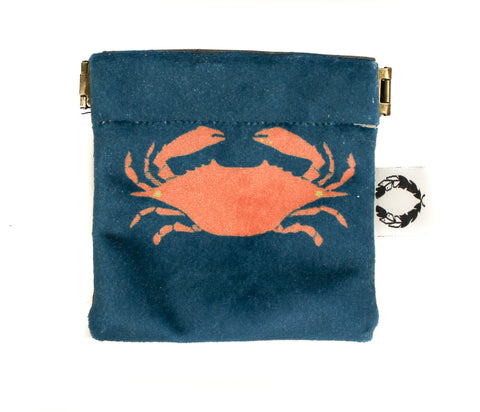velvet crab pinch purse