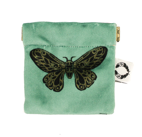 velvet moth pinch purse