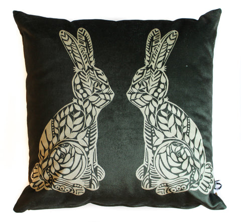 velvet rabbit rabbit pillow sham