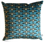 blue bird set of 2 pillow shams