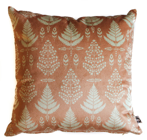 classic fern set of 2 pillow shams