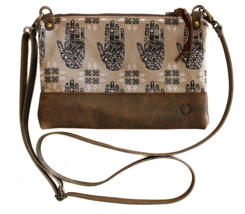 clover and hands townie cross body
