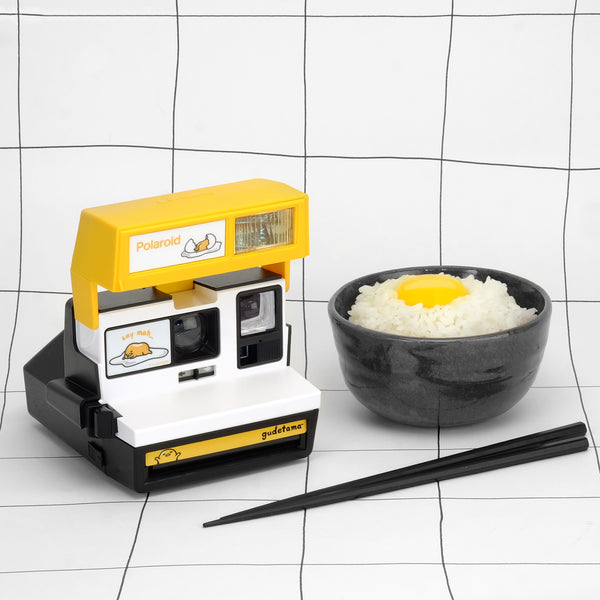 Gudetama x Polaroid Camera