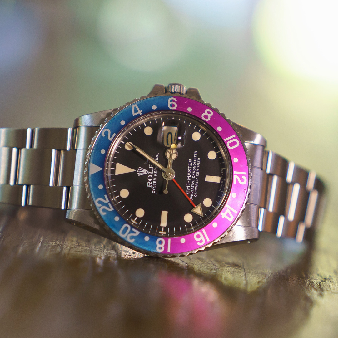 Color change rolex