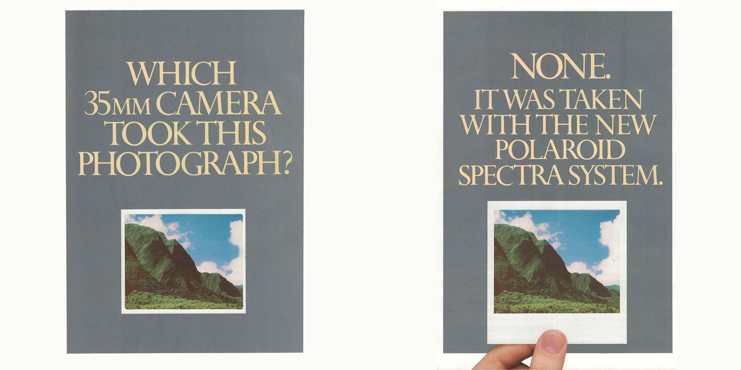 Old Spectra Ad