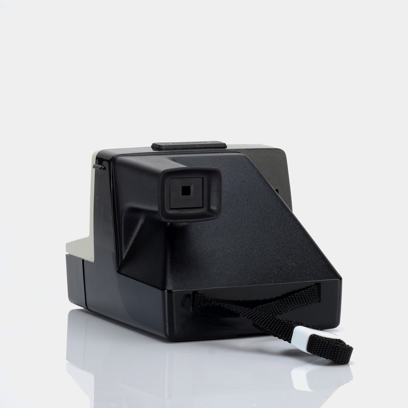 Polaroid 1000 SX-70 Camera with Flashbar