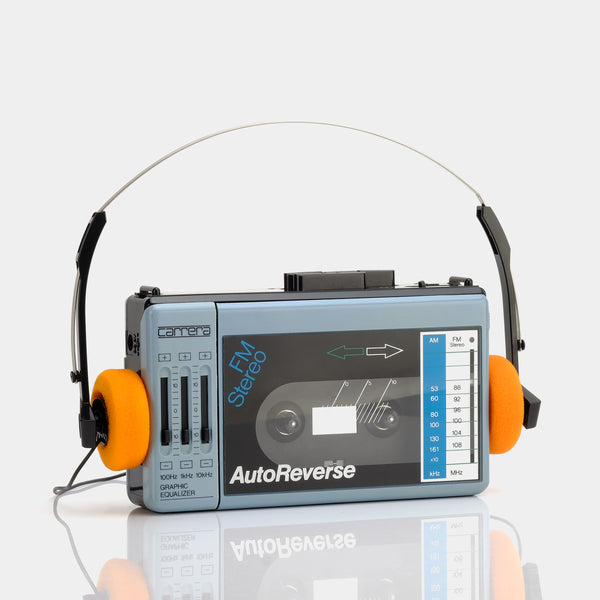 Carrera AM/FM Portable Cassette Player