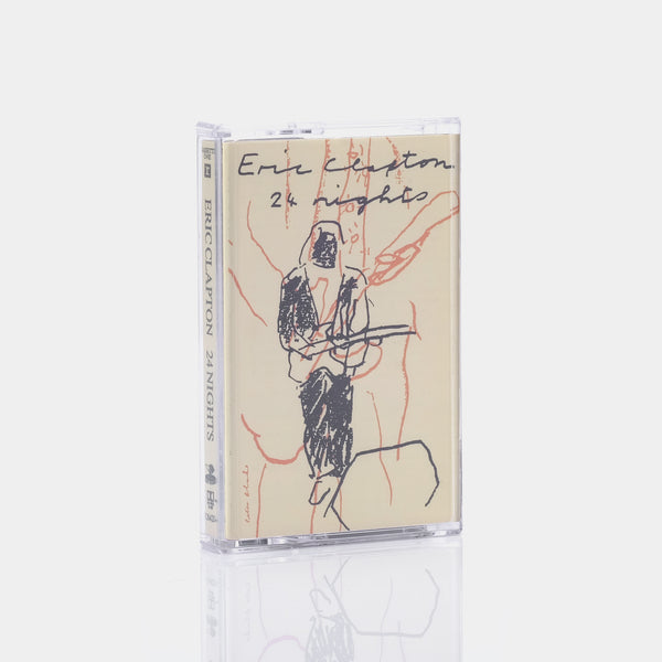 Eric Clapton - 24 Nights (1991) Cassette Tape