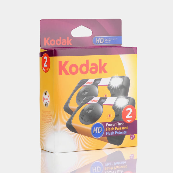 Kodak HD Power Flash Disposable 35mm Film Camera - 2 pack 27 EXP