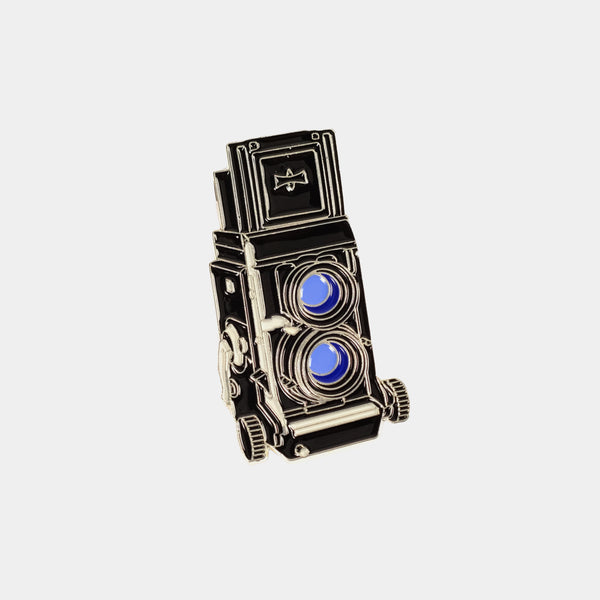 Medium Format Mamiya C330 Camera Enamel Pin