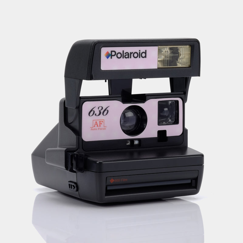 Polaroid 636 Autofocus Pink and Grey Camera