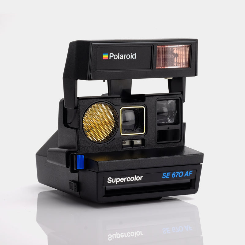 Polaroid Supercolor SE 670 Autofocus 600 Camera