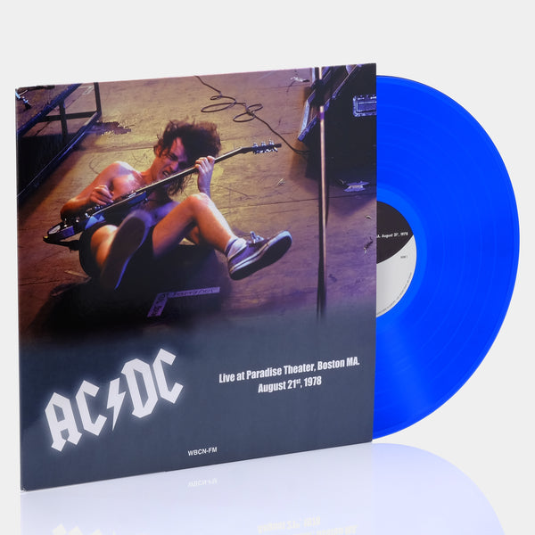 AC/DC - Live In Paradise Theater, Boston MA, August 21st, 1978 (2017) Blue Vinyl Record