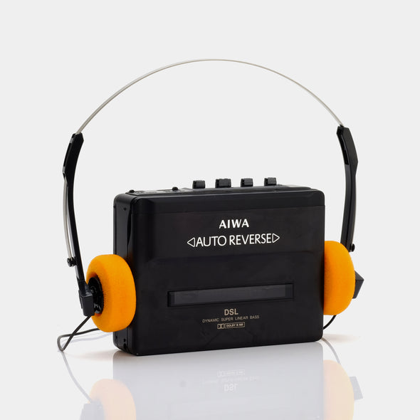 AIWA Auto Reverse Portable Cassette Player
