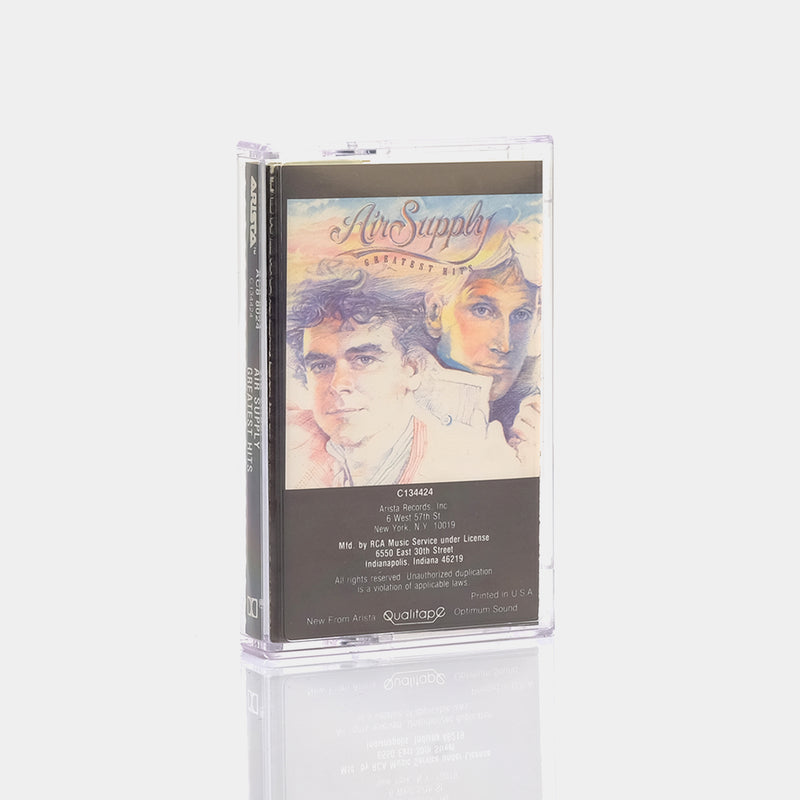 Air Supply - Greatest Hits (1983) Cassette Tape