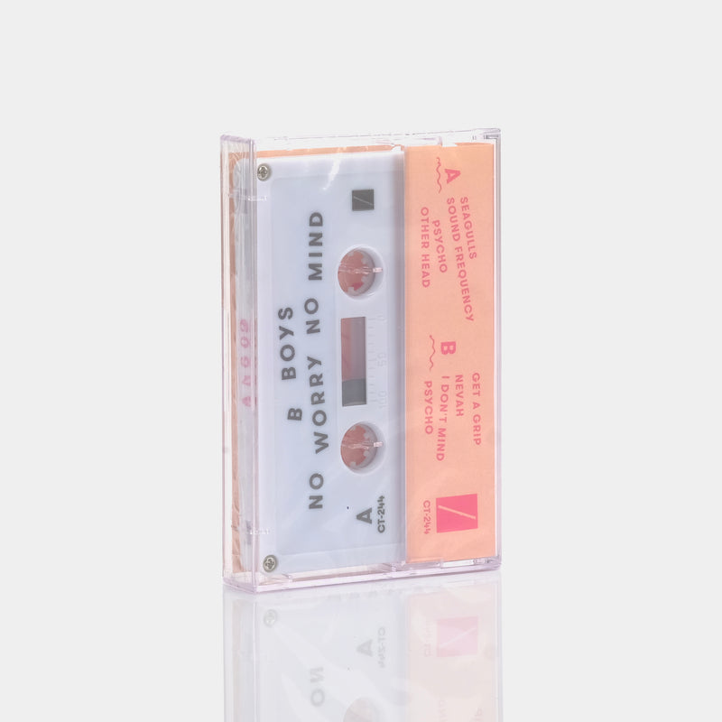 B Boys - No Worry No Mind (2016) Cassette Tape