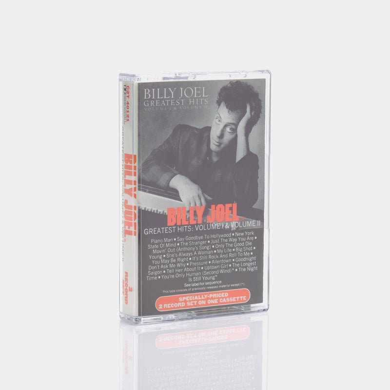 Billy Joel - Greatest Hits Volume I & II (1985) Cassette Tape
