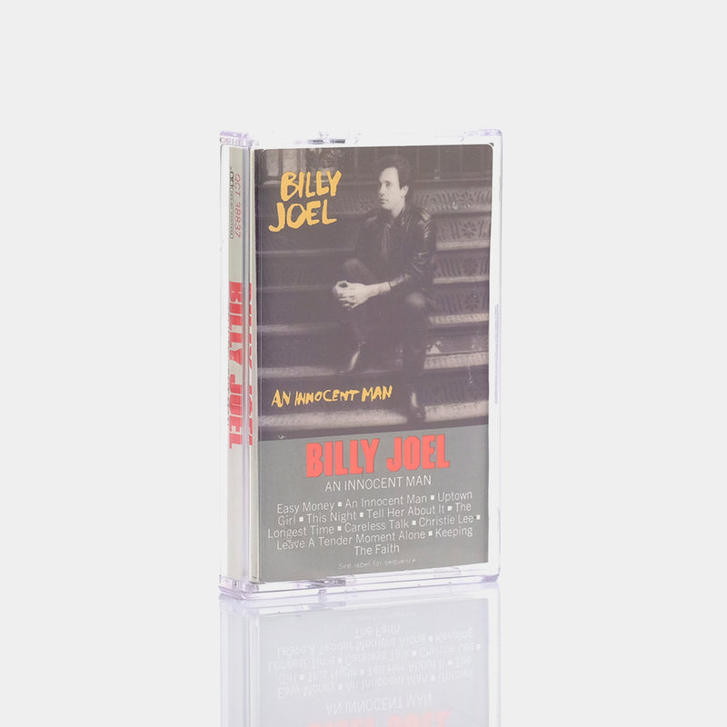 Billy Joel - An Innocent Man (1983) Cassette Tape
